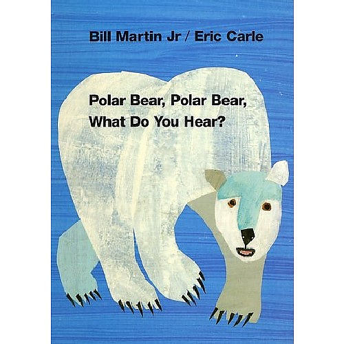 POLAR BEAR POLAR BEAR WHAT DO YOU HEAR? /平裝繪本