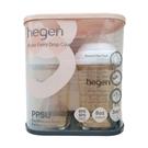 新加坡品牌hegen 金色奇蹟PPSU多功能方圓型寬口奶瓶雙瓶組 240ml 88740