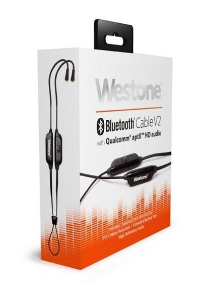 平廣 送袋 公司貨 Westone Bluetooth Cable V2 藍芽耳機線 MMCX 線材 線 藍芽線材 可通話