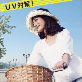【Nizu】日本進口高效遮陽雙面遮陽帽(黑色+小碎花) /雙面漁夫帽/日本進口