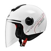 【東門城】ASTONE CJ500 素色(白) 3/4半罩式安全帽