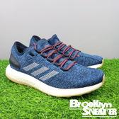 Adidas PUREBOOST 藍色編織 膠底 慢跑  網布 男  (布魯克林)  S81993