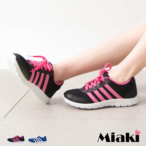 慢跑鞋美式復刻休閒透氣網布綁帶平底包鞋 (MIT)