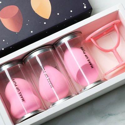 粉撲 盒裝葫蘆粉撲 化妝海綿美容工具 葫蘆棉彩妝美妝蛋爆款 乾濕兩用