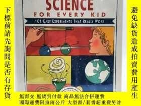 二手書博民逛書店Janice罕見Van Cleave s Earth Science for Every Kid: 101 Eas