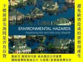 二手書博民逛書店Environmental罕見Hazards: Assessin