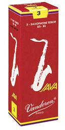 凱傑樂器 Vandoren Java Red Tenor Reeds  紅盒 次中音 竹片 2號半