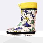 黑五購物節 春夏兒童雨鞋動感街舞兒童雨靴/水鞋/套鞋 加絨膠鞋雨鞋