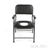 家用簡易便攜式可折疊老人坐便椅防滑加固孕婦坐便器老年行動馬桶 【快速出貨】 YYJ