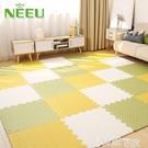 特賣地板拼圖neeu泡沫地墊拼接臥室榻榻米爬爬墊拼圖海綿地板墊加厚 LX