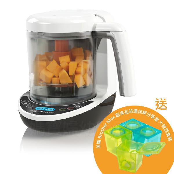Baby brezza 副食品調理機料理機-數位版 送 英國 Brother max 副食品分裝盒大號4盒裝
