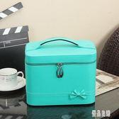 化妝品包包韓版多功能大容量化妝箱手提多層新款便攜簡約 LC598【優品良鋪】
