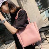 托特包 女包包夏天2018新款韓版潮百搭手提包大容量托特包休閒單肩斜挎包