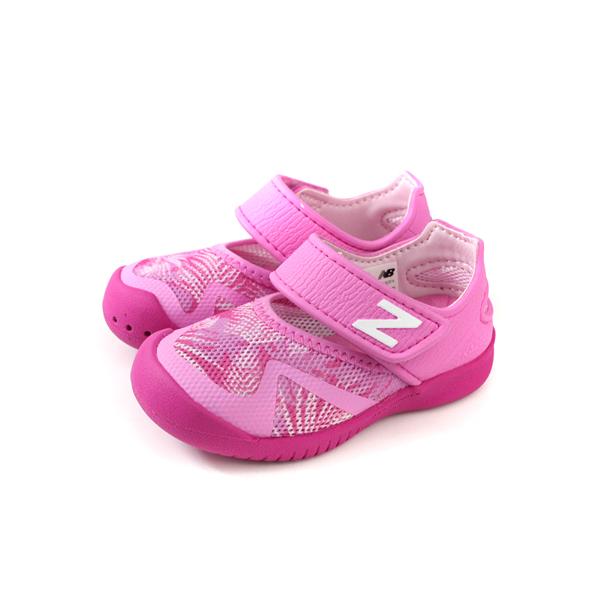 New Balance 208系列 運動鞋 水陸 桃紅色 迷彩 小童 童鞋 IO208PNK-W no587