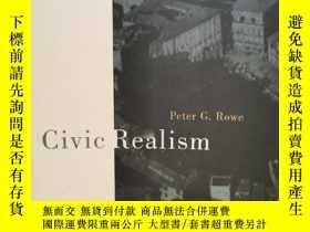 二手書博民逛書店城市規劃中市民現實主義研究罕見Civic Realism by