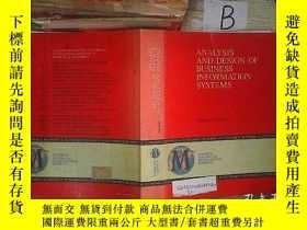 二手書博民逛書店ANALYSIS罕見AND DESIGN OF BUSINESS INFORMATION SYSTEMS 企業信息