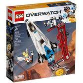 樂高積木 LEGO《 LT75975 》Overwatch 鬥陣特攻系列 - Watchpoint: Gibraltar╭★ JOYBUS玩具百貨
