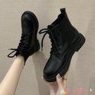 馬丁靴 網紅英倫風馬丁靴女2021秋季新款潮保暖百搭瘦瘦靴短靴 愛丫 新品