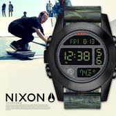 NIXON A365-1727 UNIT EXP 潮流迷彩腕錶 熱賣中!