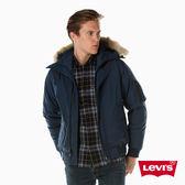 羽絨外套 男裝 / 鋪毛連帽設計 - Levis