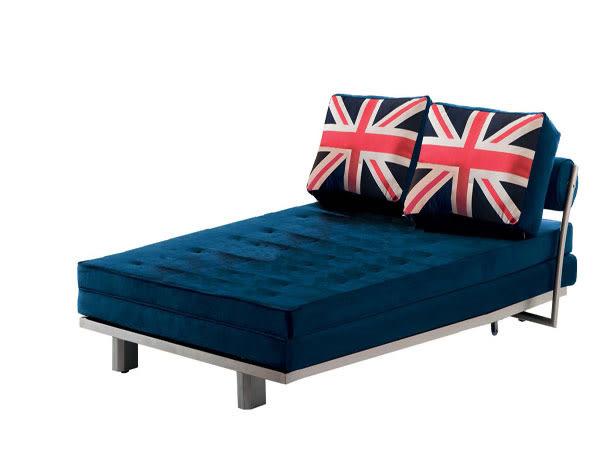 沙發床【YUDA 】伯爵 英國 滾輪外拉式 多功能沙發床 床尾沙發 (J8F 193-1)  新竹以北免運費
