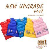 新款秋冬童裝兒童羽絨棉馬甲男童女童背心寶寶坎肩嬰兒棉內膽