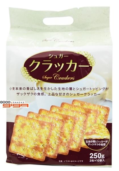 【吉嘉食品】滿足感甜味蘇打餅 1包250公克,產地馬來西亞[#1]{4580210192765}