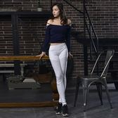 瑜珈服-露肩性感彈力短款女運動上衣2色73rh11[時尚巴黎]