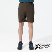 PolarStar 中性 排汗短褲『咖啡』P20311 戶外│露營│釣魚│休閒褲│釣魚褲│登山褲│耐磨褲