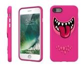 【唐吉】SwitchEasy Monster iPhone 7 Plus, 3D笑臉怪獸保護殼, 粉皮