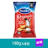 Bluebird 厚切系列-海鹽口味(150gx6包)-箱購