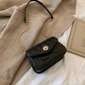錬條包2020流行包包新款女包韓版時尚簡約錬條小方包ins百搭側背斜背包 玩趣3C