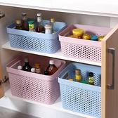 3個裝 收納筐化妝品玩具鏤空收納盒內衣收納籃【聚寶屋】