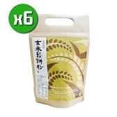 【南紡購物中心】【溪州尚水米】玄米鬆餅粉x6包(450g/包)