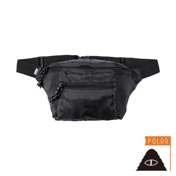 POLER STUFFABLE FANNY PACK 可收納輕便腰包 / 黑色 包包 包款 小包