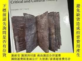 二手書博民逛書店The罕見Year's Work in Critical and Cultural Theory VOLUME I