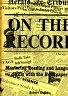 二手書R2YB《ON THE RECORD》2011-Hughes-978007