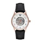 ARMANI 加厚圓弧款玻璃鏡面款機械錶 AR1924