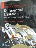 【書寶二手書T9/大學理工醫_D92】Fundamentals of Differential Equations an