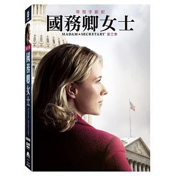 國務卿女士 第3季 DVD Madam Secretary 免運 (購潮8)