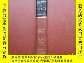二手書博民逛書店DISEASES罕見OF THE SKIN 【毛應驥簽名鈴印本】