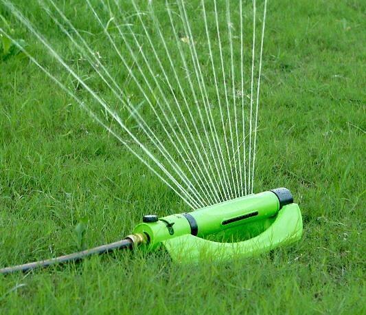 自動噴水器灑水器屋頂降溫澆水噴淋花園灑水旋轉噴頭草坪灌溉 歐韓流行館