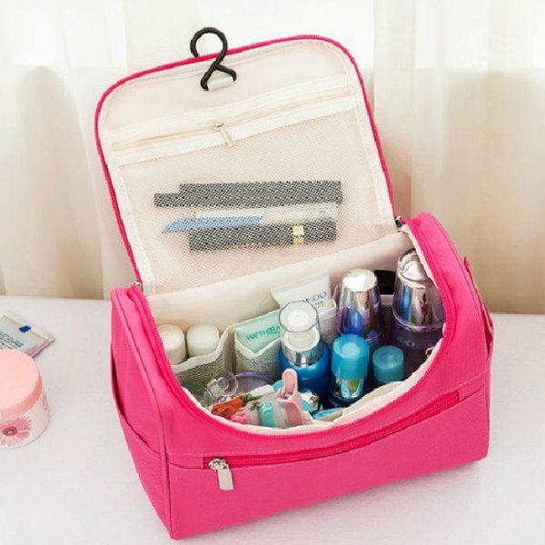【GF160】旅行洗漱包 大容量旅行盥洗包 收納包 手提化妝包★EZGO商城★