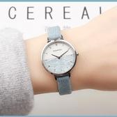 手錶 正韓復古女學生手錶女皮帶時尚潮流簡約羅馬小錶盤石英女錶