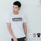 california 印花【OBIYUAN】短袖T恤 韓版短袖上衣 共3色【HJ9381】