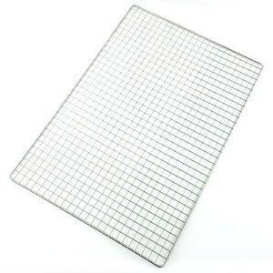 【珍昕】 台灣製 皇家不鏽鋼大型烤肉網/烤肉網(約52x36cm)