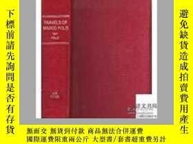二手書博民逛書店【罕見】1930年出版,The Travels Of Marco Polo 精裝Y171274 Marco P