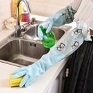 廚房防水耐用橡膠加厚保暖清潔手套洗碗刷碗衣服塑膠膠皮加厚手套