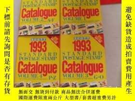 二手書博民逛書店Scott罕見1993 Standard Postage Stamp Catalogue【1 2 3 4】全四冊奇
