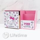 ﹝KittyPINK多功能單抽盒﹞正版 單抽盒 收納盒 置物盒 木櫃 凱蒂貓〖LifeTime一生流行館〗